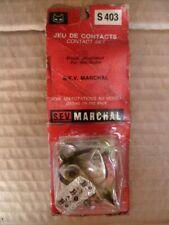 Rupteur,Vis patinées SEV MARCHAL pour PEUGEOT 203-403 7/8 - 404 - J7-Q3A-D4B ect