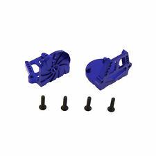 Traxxas X-Maxx Alloy F/R Motor Mount Set, Blue by Atomik RC - TRX 7760