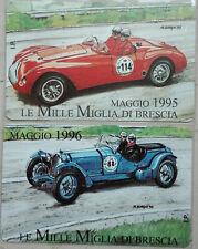SCHEDE TELEFONICHE ITALIA  PRP 2 SCHEDE MILLE MIGLIA  CAT.C&C 3360-3361