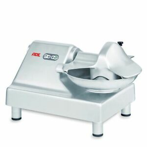 Tischcutter ADE Tondo 5Liter/15kg 230V/350W Edelstahl Kutter Küche Fleisch #