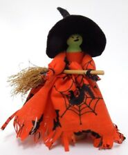 Hand Made Halloween Witch Clothespin Doll