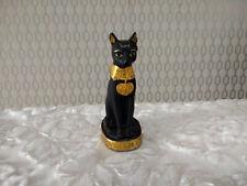 Small Resin Egyptian Cat God Bastet Figurine Decorative Ornament Statue