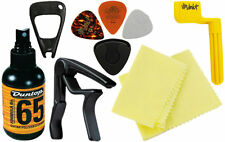Dunlop Ga20 Acoustic Guit Accessory Pack Pacchetto Accessori