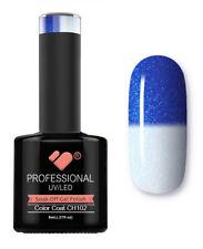 CH102 vb línea Cambio De Color Azul Metálico-Gel Nail Polish-Esmalte Gel Super