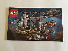 LEGO 4181 PIRATES OF THE CARIBBEAN INSTRUCTION Only