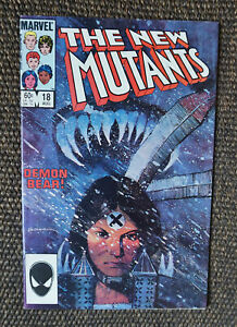 New Mutants #18 (1984 Marvel 1st Series) 1st Appearance of Warlock VF