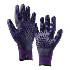 Grooming-Bathing Glove Purple Medium