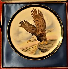 American Eagle Plate Boehm Porcelain Collector's Plate