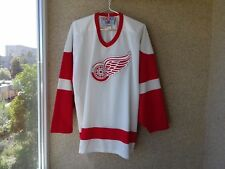 Detroit Red Wings USA Hockey Jersey XL Shirt CCM OLD White