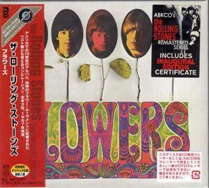 THE ROLLING STONES FLOWERS JAPAN SACD UIGY 7013 OBI SEALED