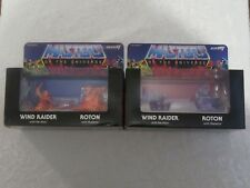 Super7 MUSCLE M.U.S.C.L.E. Orange Purple Wind Raider Roton He-Man Skeletor 2 Lot