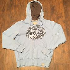 UNC Tarheels NCAA Nike hooded Zip Up Sweatshirt size Small