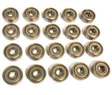 2-30pcs Deep Groove Ball Bearing 603ZZ to 699ZZ Metal Shield Miniature Bearing
