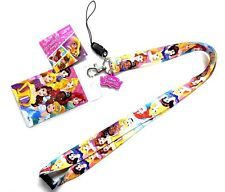Disney Princess Lanyard with Soft Touch Dangle Card Holder HOT
