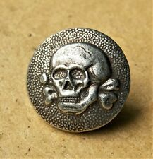 german skull button, WW2, WWII