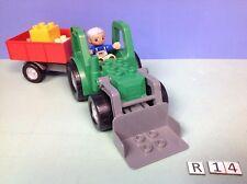 (R14) Duplo Tracteur + remorque ref 4887