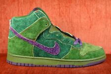 WORN TWICE NIKE DUNK HIGH PREMIUM SB SKUNK 313171 300 Size 10.5 in OG Box 2010