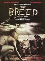 The Breed DVD WES CRAVEN DISC & ARTWORK ONLY NO CASE UNUSED CONDITION SHIPS FAST