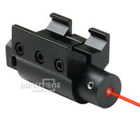 Tactical New Red Laser Dot Sight for Gun Pistol Picatinny Rail Mount 20mm