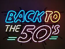 New 50's American Style Retro Neon Diner Sign Hanging Standing - BACK TO THE 50s