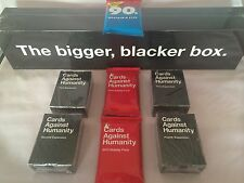 Expansions 1st 2nd 3rd 4th 5th 6th Cards Against Humanity 90's+12+13+14 PACKs