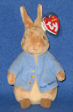 TY PETER RABBIT BEANIE BABY - BEATRIX POTTER -  MINT TAGS - UK EXCLUSIVE