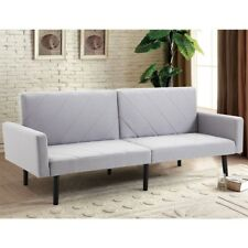 Living Room Convertible Recliner Couch Splitback Sleep Futon Sofa Bed Furniture