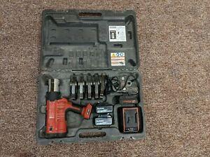 Ridgid 43358 RP 340 Battery Press Tool Kit with Propress Jaws