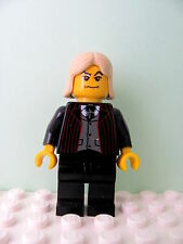 LEGO Harry Potter @@ Minifig @@ hp039 @@ Lucius Malfoy, Black Suit Torso - 4720