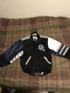 Dallas Cowboys Vintage Leather Jacket