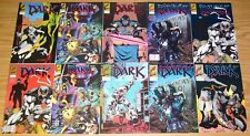 the Dark #1-4 VF/NM complete series + vol. 2 #1-7 + convention book + variant