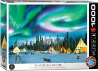 Eurographics Jigsaw Puzzle NORTHERN LIGHTS - 1000 Pieces