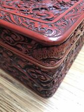 Chinese Antique Woolen Hand Carved Box