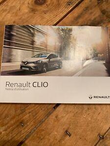 Manuel Notice D Utilisation Renault Clio 4