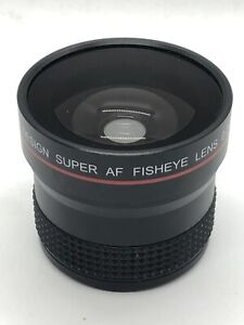 Precision Design 0.25x AF Fisheye Auxiliary Lens 58mm, Good for Real Estate Pics