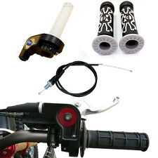 TWIST THROTTLE CABLE Grips Dirt Pit bike atomik pitpro lei tdr orion White