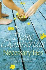 Necessary Lies,Chamberlain, Diane,New Book mon0000025601
