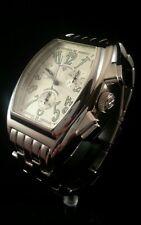 Swiss Legend Lucerne -  Gorgeous watch - Steel Band - Rare Tonneau