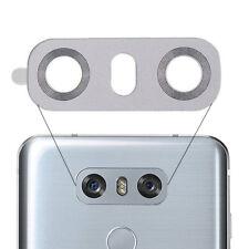 Para LG G6 H870 Rear Back Cámara Vaso Lente Cover Blanco H870DS H871 H872 H873