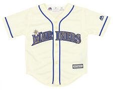 Majestic MLB Baseball Toddler Seattle Mariners Alt.3 Home Team Jersey