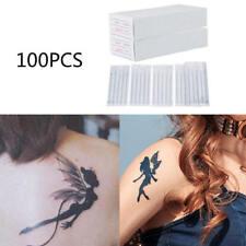100 Pcs Mix Sizes Sterile Disposable Tattoo Needles 3 5 7 9 RL 5 7 9 RS M1 New
