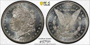 1878-CC MORGAN DOLLAR TERRIFIC PCGS CERTIFIED MS--62 PROOF LIKE FINISH! #78