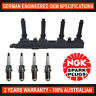 4x Genuine NGK Spark Plugs & 1x Ignition Coils for Holden Astra TS SRi