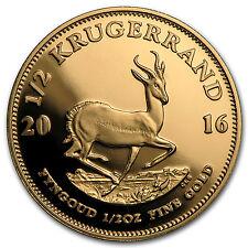 2016 South Africa 1/2 oz Proof Gold Krugerrand - SKU #97939