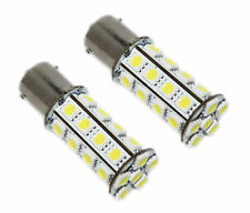 2x automóvil car 30 Power LED SMD ba15s 1156 1210 p21w blanco xenon 6000k 12v sólo 2.5w!