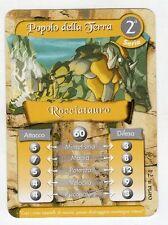 figurina - CARD GORMITI - SERIE 2 ROCCIATAURO
