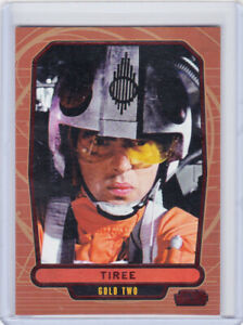 2013 Topps Star Wars Galactic Files 2 TIREE RED Foil Parallel Card #477 24/35