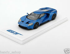 TSM TRUE SCALE MODEL 1:43 2015 FORD GT LIQUID BLUE DETROIT AUTO SHOW EDITION