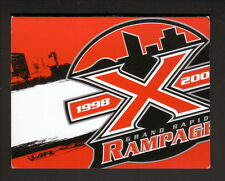 Grand Rapids Rampage--2007 Pocket Schedule--AFL