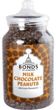 BONDS - CHOCOLATE PEANUTS - 2.1KG JAR, TRADITIONAL SWEETS,GIFT, XMAS